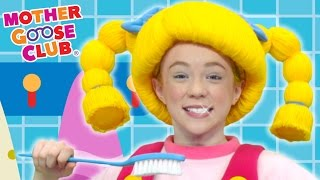 Brush Your Teeth | DIY Clean White Teeth | Mother Goose Club Songs For Children