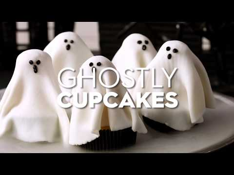 Ghostly Cupcakes | Fun With Food | Better Homes & Gardens