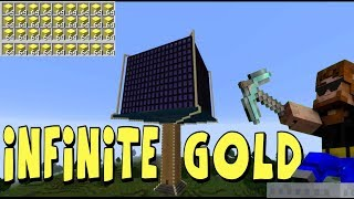 Minecraft Gold Farm | THIS THING IS HUGE!