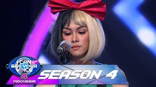 Putri Ayu Tak Percaya, Suara SIA Sangat Mempesona [KALI KEDUA ]   I Can See Your Voice (71)