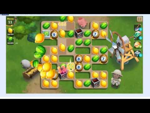 Farmville Harvest Swap Level 379  2 stars