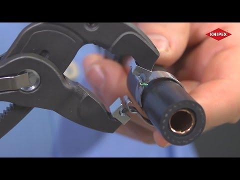 KNIPEX Schlauchschellen-Zange für Click-Schellen
