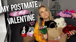 MY POSTMATE DELIVERY PERSON IS MY VALENTINE - Video Youtube