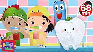 Brush Your Teeth (2D) | +More Nursery Rhymes & Kids Songs - Cocomelon (ABCkidTV)