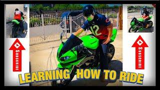 Learning how to ride my 2009 Kawasaki Ninja 600