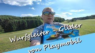 Playmobil - Sports & Action 5219 Wurfgleiter mit Pilot - Fliegt der Flieger richtig ordentlich??