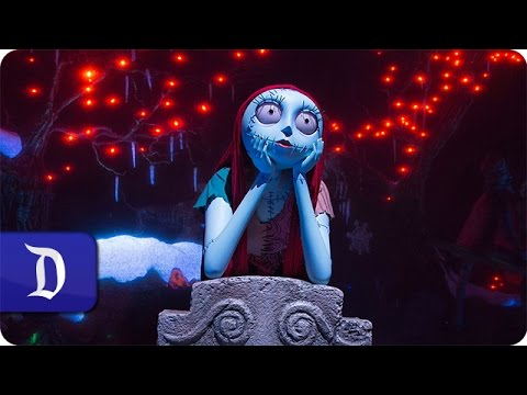 Behind the Scenes: Sally Joins Jack Skellington in Haunted Mansion Holiday at Disneyland Park