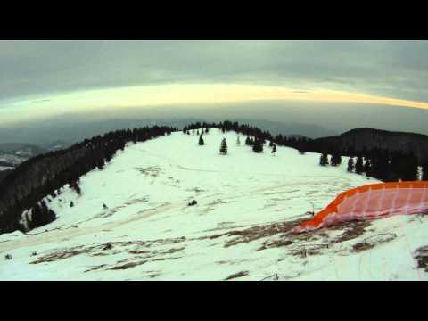 Motorne sani na Mali planini