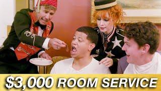 We Spent $3000 On Room Service