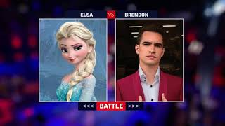 Frozen 2 - Elsa! at the Disco - Into the Unknown (Panic! Battle! Mash-up Duet Version!)