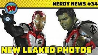 Gambar cover Stan Lee Passed Away, Avengers 4 New Leaks, Aquaman, Eternals | Nerdy News #34