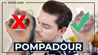 Best Products For The Pompadour | Men's Hair