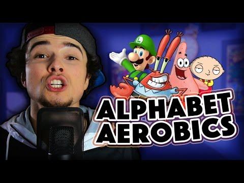ALPHABET AEROBICS (Impressions Rap!) | Mikey Bolts