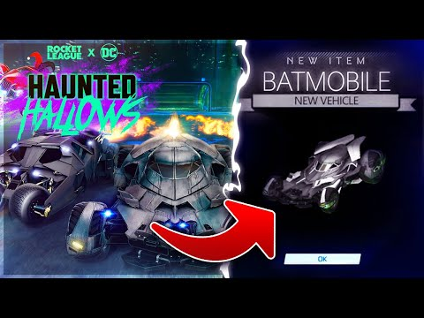 , title : 'THE BATMOBILE IS BACK WITH *FREE* ITEMS IN ROCKET LEAGUE! [HAUNTED HALLOWS EVENT]'