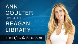 A Reagan Forum with Ann Coulter