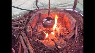 You Can Have An Open Fire In A Tarp Tee Pee