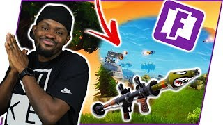 WHEN YOU AND THE WHOLE SQUAD HAVE ROCKET LAUNCHERS! - Fortnite Season 4 Gameplay