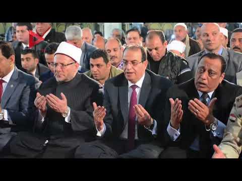 المفتي ووزير الاوقاف يفتتحان المسجد الكبير بالدقهلية