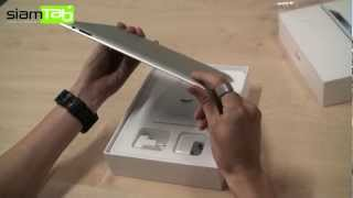 แกะกล่อง The New iPad (iPad 3) - dooclip.me
