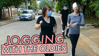 Jogging With Parents By Alex Gonzaga