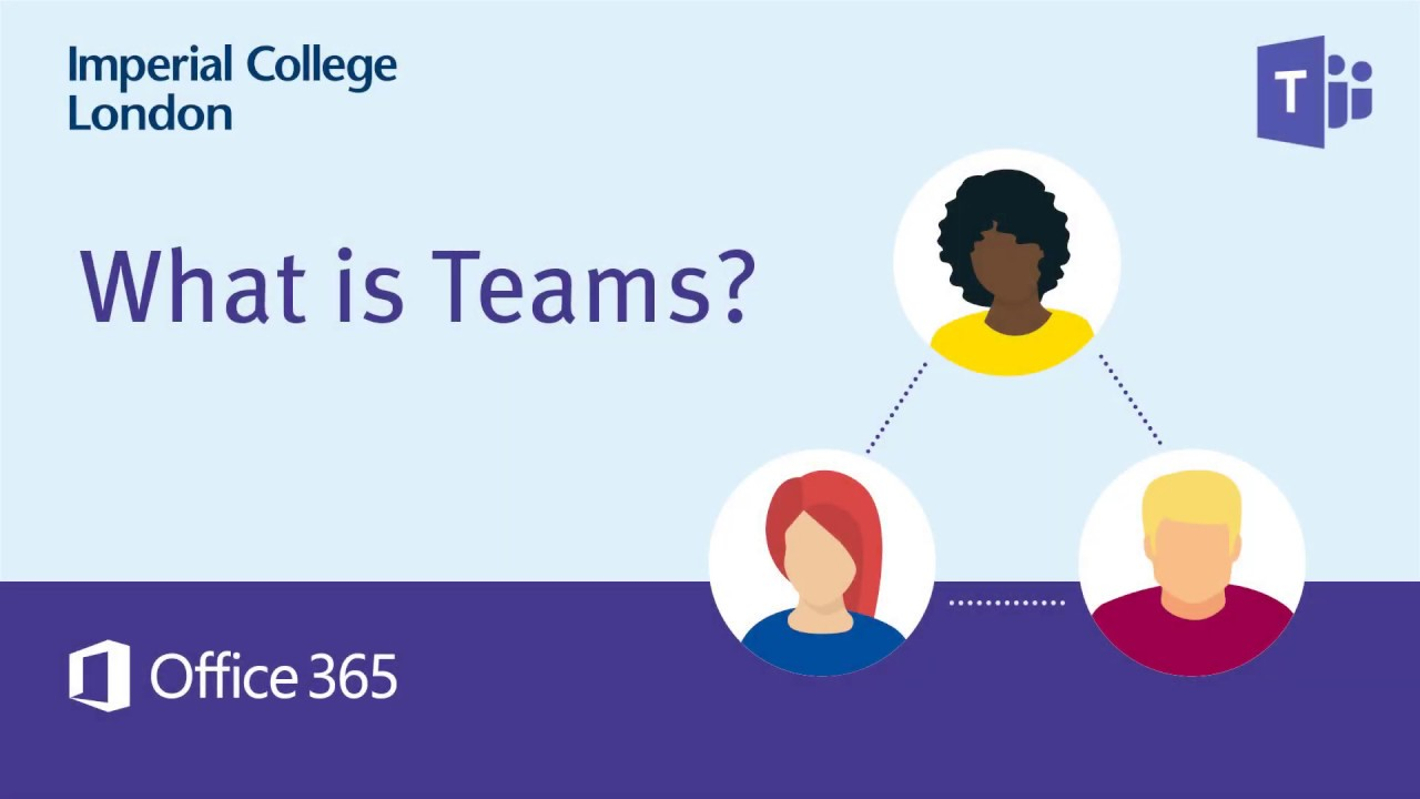 Get started with Teams, a secure, shared workspace for conversations, file storage and real time collaboration