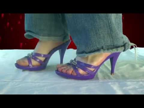 Sexy heeled sandals - YouTube ▶4:26