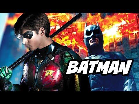 Titans Season 1 Nightwing Batman Flashback Scenes Theory