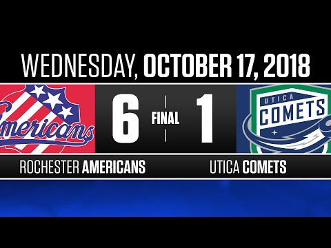 Americans vs. Comets | Oct. 17, 2018
