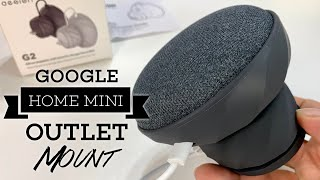 Elegant Outlet Wall Mount Holder for the Google Home Mini by KIWI design Review