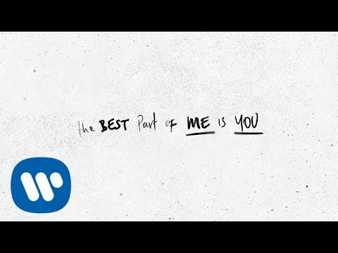 Ed Sheeran - Best Part Of Me (feat. YEBBA) [Official Lyric Video]