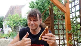 Fun /Bonus Video  - Testlauf Petromax Sandwicheisen