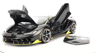 AUTOart Lamborghini Centenario Clear Carbon