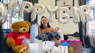 UNBOXING MY BIRTHDAY GIFTS | TANAANIA