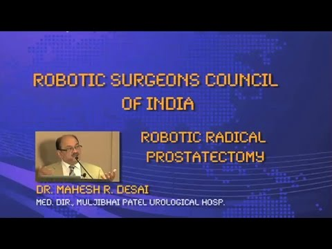 Robotic Radical Prostatectomy