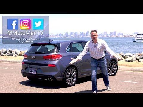 2018 Hyundai Elantra GT Sport • Hyundai i30 FIRST DRIVE REVIEW (2 of 2)
