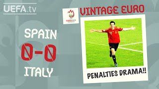 SPAIN 0-0 ITALY FULL PENALTY SHOOT-OUT EURO 2008 | VINTAGE EURO