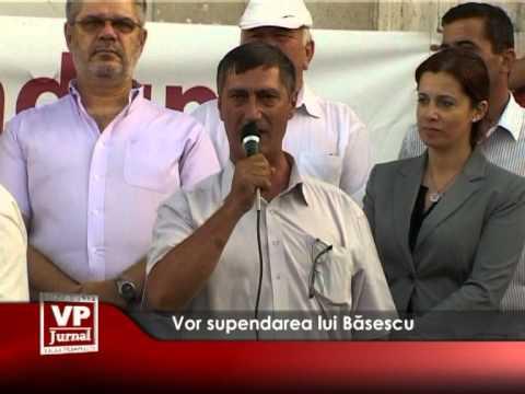 Vor supendarea lui Băsescu