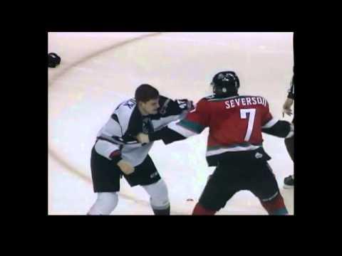 Jackson Houck vs. Damon Severson