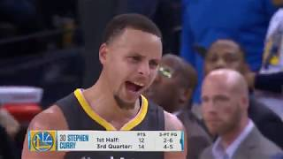 Curry goes into the Zone again!