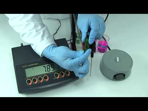 Cálculo de la pendiente de electrodos de pH
