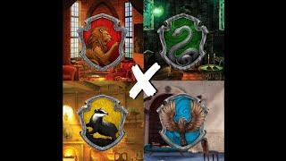 [Harry Potter] Combined Hogwarts Houses Edits ✨