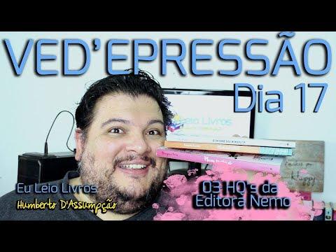 VEDA #17 - Indicando 03 HQ's da Editora Nemo - Eu Leio Livros