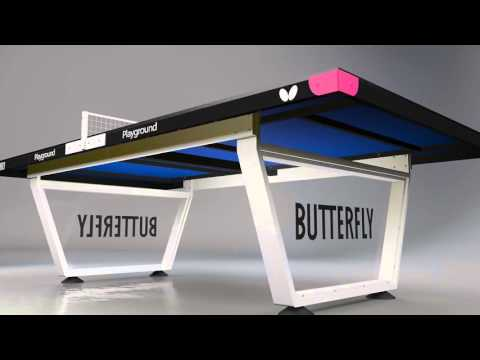 Butterfly Playground Outdoor Table Tennis Table AW15