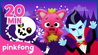 The Very Spooky Castle👻   Pinkfong Chart Show   Pinkfong Show for Children