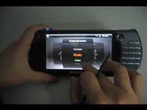Lenovo's MID Handheld Internet/Media Device Looks Like a Giant PSP, Has Touch Gestures