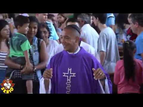Padre Valdir considerado pelos católicos o melhor Padre da história de Juquitiba lota a missa da Igreja católica matriz