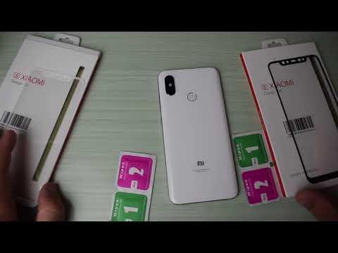 Xiaomi Mi 8, come si applica la pellicola in vetro 3D