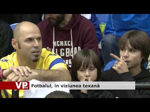 Fotbalul, în viziunea texană
