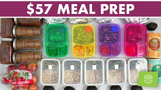 $57 Healthy Meal Prep on a Budget at Sprouts!