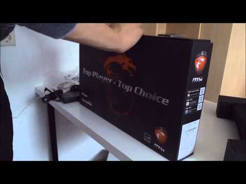 [Unboxing] MSI GP-60 Leopard Gaming Laptop [HD+]